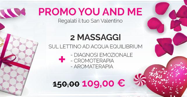 Promo You & Me per San Valentino