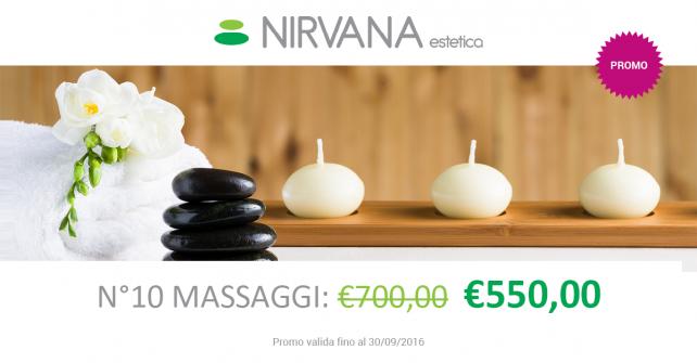 Promozione 10 massaggi manuali